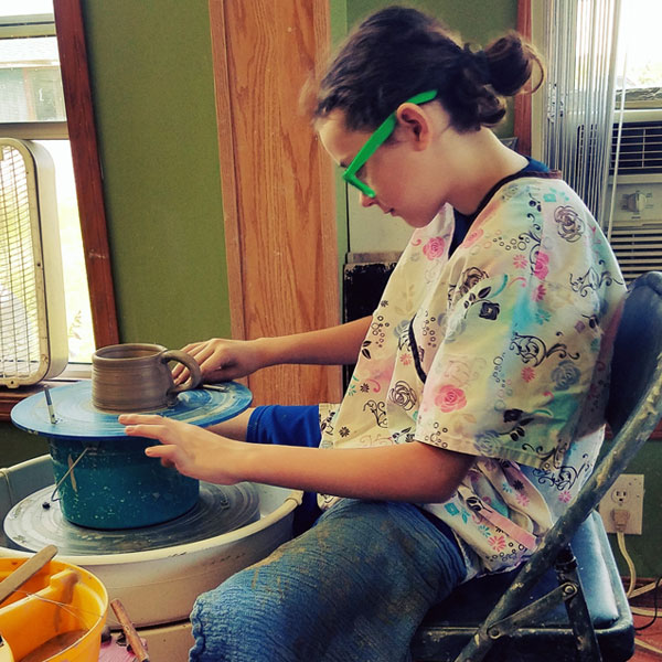 youth pottery classes